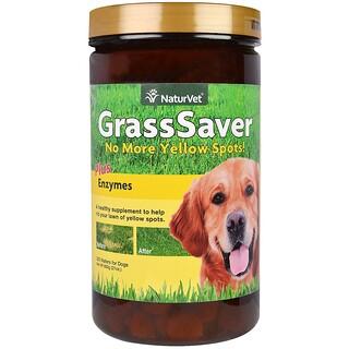 NaturVet, GrassSaver Plus Enzymes, 300 Wafers, 21 oz (600 g)