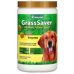 NaturVet, GrassSaver® 酶類營養軟糖,寵物狗專用,240 粒裝,16.9 盎司(480 克)