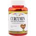 Curcumin, Vegan Gummies, Natural Mango Flavor, 60 Pectin Gummies - изображение