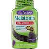 VitaFusion, Extra Strength Melatonin, Natural Blackberry Flavor, 5 mg, 120 Gummies