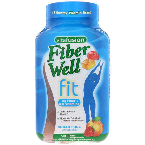 VitaFusion, FiberWell Fit Vitamin, 90 Gummies