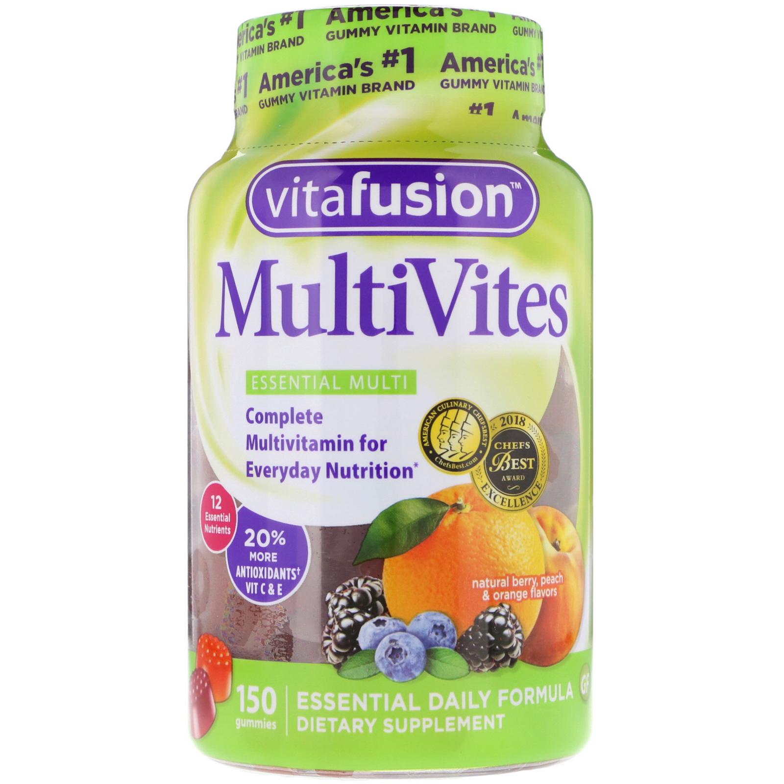 VitaFusion, MultiVites, Essential Multi