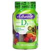 VitaFusion, 维生素 D3,天然水蜜桃和浆果味,50 微克(2,000 国际单位),75 软糖