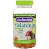 VitaFusion, Melatonin Adult Vitamins, Sleep Support, Natural White Tea with Passion Fruit Flavors, 140 Gummies