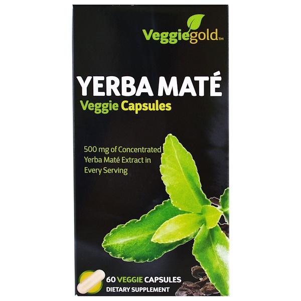 Irwin Naturals, Yerba Mate, 60 Veggie Caps (Discontinued Item)