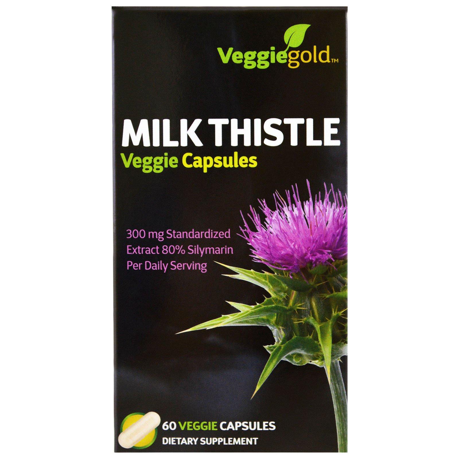 Irwin Naturals, Молочный чертополох, 60 вегетарианских капсул