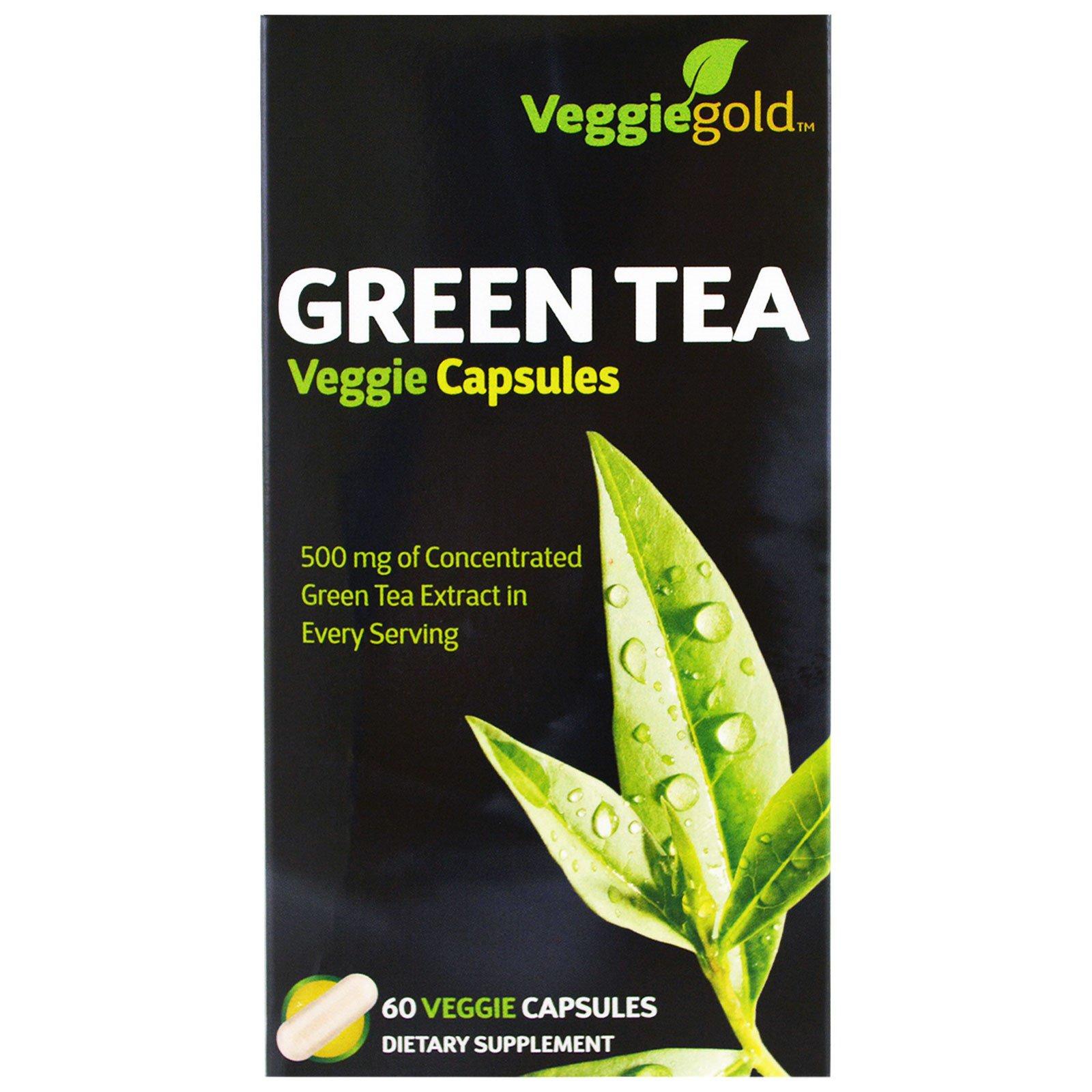 Irwin Naturals, Зеленый чай, 60 вегетарианских капсул