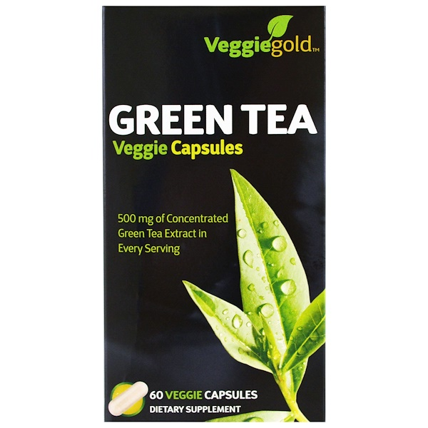Irwin Naturals, Green Tea, 60 Veggie Caps (Discontinued Item)