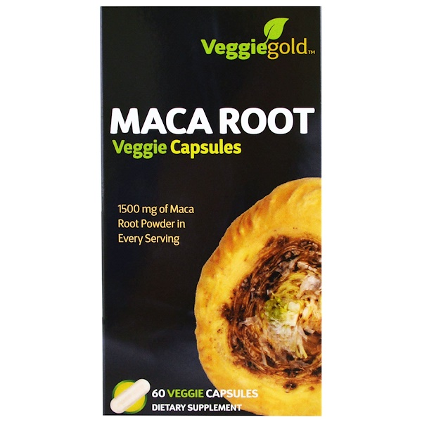 Irwin Naturals, Maca Root, 60 Veggie Caps (Discontinued Item)