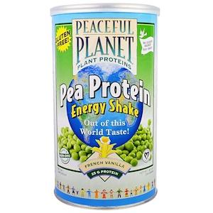 Веглайф, Pea Protein Energy Shake, French Vanilla, 18.9 oz (534 g) отзывы