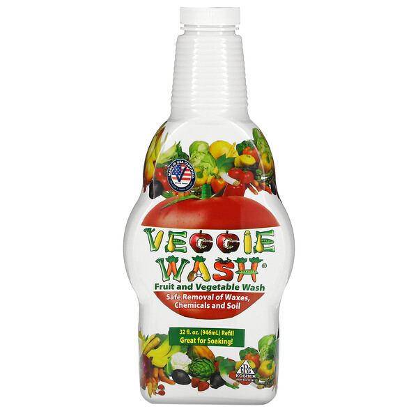 Citrus Magic, Veggie Wash, Fruit and Vegetable Wash, 32 oz (946 ml)