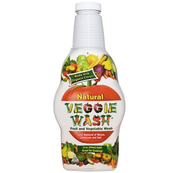Citrus Magic, Lavagem de Frutas e Vegetais, 946 ml (32 oz)