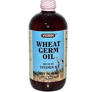 Viobin, Wheat Germ Oil, 16 fl oz (473 ml)
