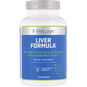 Vita Logic, Liver Formula, 120 Vegcaps