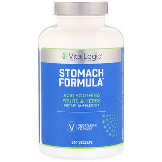 Vita Logic, Stomach Formula, 120 Vegcaps