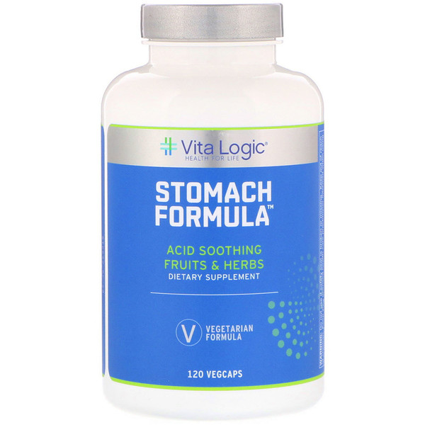 Vita Logic, Stomach Formula, 120 Vegcaps
