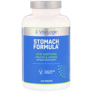 Vita Logic, Stomach Formula, 120 Vegcaps отзывы