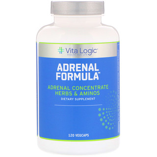Vita Logic, Adrenal Formula, 120 Vegcaps