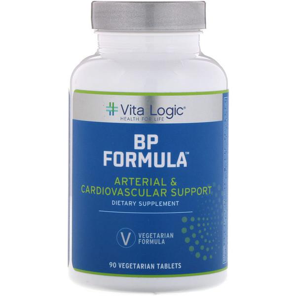 Vita Logic, تركيبة ضغط الدم، 90 كبسولة نباتية