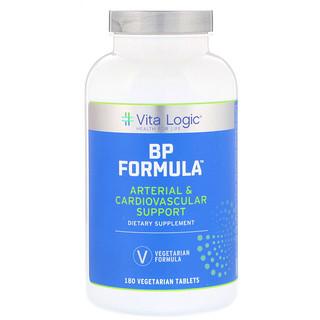 Vita Logic, BP Formula, 180 Vegetarian Tablets