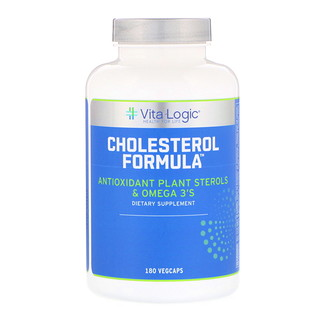 Vita Logic, Cholesterol Formula, 180 Vegcaps