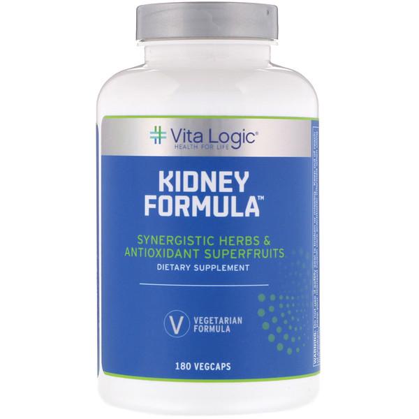 Vita Logic, Kidney Formula, 180 Vegcaps