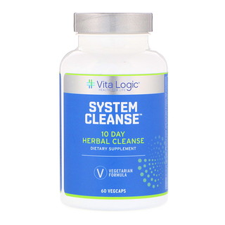 Vita Logic, System Cleanse, 60 Vegcaps