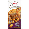 Valor, 0% Sugar Added, Milk Chocolate with Almonds, 5.3 oz (150 g)