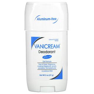 Vanicream, Deodorant For Sensitive Skin, Aluminum-Free, Fragrance Free, 2 oz (57 g)