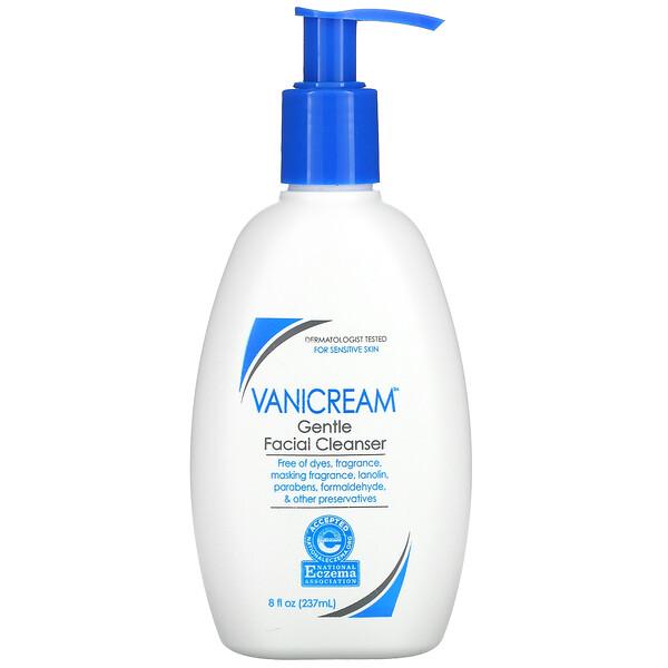 Gentle Facial Cleanser, For Sensitive Skin, Fragrance Free, 8 fl oz (237 ml)