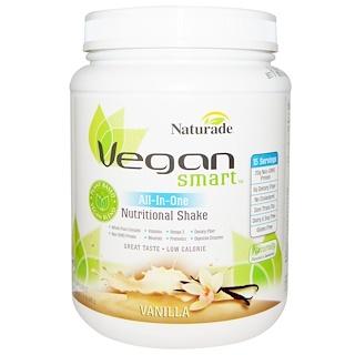 Vegan Smart, VeganSmart, All-In-One Nutritional Shake, Vanilla, 22.8 oz (645 g)
