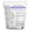 VeganSmart, Vegan Slim، مخفوق فقدان الوزن غني بالبروتين، كريمة الفانيليا، 1.5 رطل (686 جم)