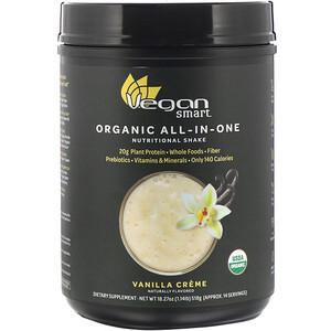 Веган Смарт, Organic All-In-One Nutritional Shake, Vanilla Creme, 18.27 oz (518 g) отзывы