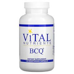 Vital Nutrients, BCQ,120 粒素食膠囊