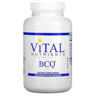 Vital Nutrients, BCQ, 240 Vegetarian Capsules