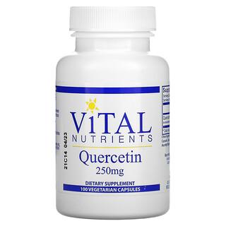 Vital Nutrients, Quercetin, 250 mg, 100 Vegetarian Capsules