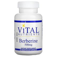 Vital Nutrients, 小檗鹼,500 毫克,60 粒素食膠囊