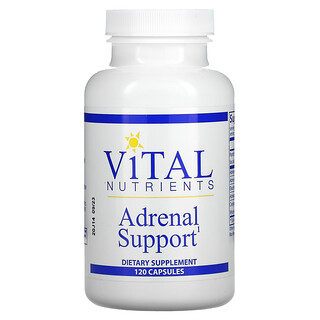 Vital Nutrients, Adrenal Support, 120 Capsules