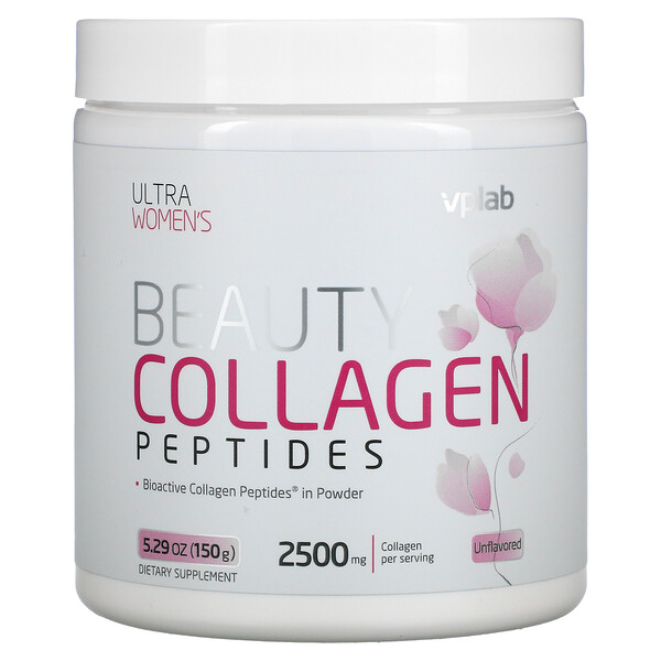 Ultra Women's Beauty Collagen Peptides, Unflavored, 2,500 mg, 5.29 oz (150 g)