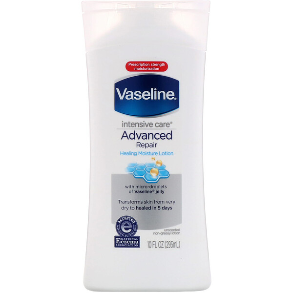 Intensive Care, Advanced Repair Non-Greasy Lotion, Fragrance Free, 10 fl oz (295 ml)