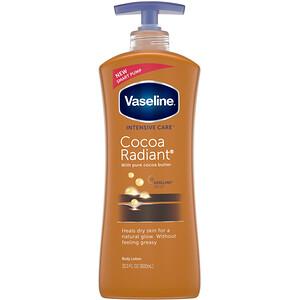 Вазелин, Intensive Care, Cocoa Radiant Body Lotion, 20.3 fl oz (600 ml) отзывы