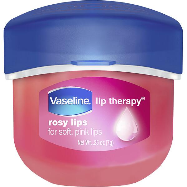 Lip Therapy, Rosy Lip Balm, 0.25 oz (7 g)