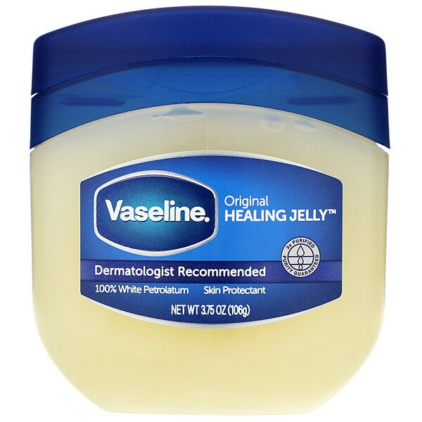 Vaseline, 100% Pure Petroleum Jelly, Original, 3.75 oz (106 g)