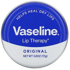 Vaseline, 唇部護理,原味,0.6 盎司(17 克)