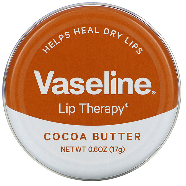 Lip Therapy, Cocoa Butter, 0.6 oz (17 g)