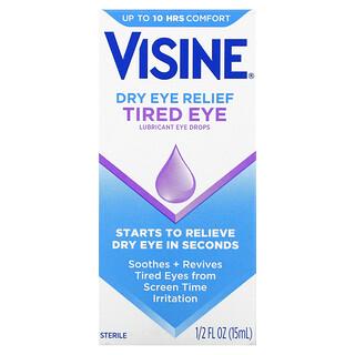 Visine, Dry Eye Relief, Lubricant Eye Drops, Tired Eye, 1/2 fl oz (15 ml)