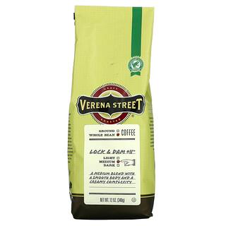 Verena Street, Lock & Dam 11, Whole Bean, Medium Roast, 12 oz (340 g)