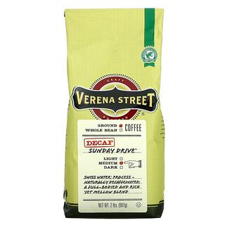 Verena Street, Sunday Drive, Ground Coffee, Medium Roast, Decaf, 2 lbs (907 g)