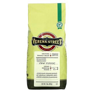 Verena Street, Cow Tipper, Flavored, Whole Bean, Medium Roast, 2 lbs (907 g)