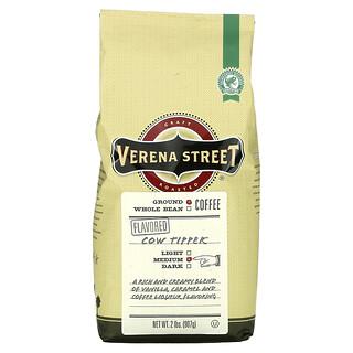 Verena Street, Cow Tipper, Flavored, Ground Coffee, Medium Roast, 2 lbs (907 g)